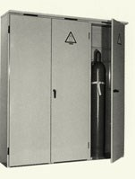 Gas bottle cabinets FS-ST sheetsteel